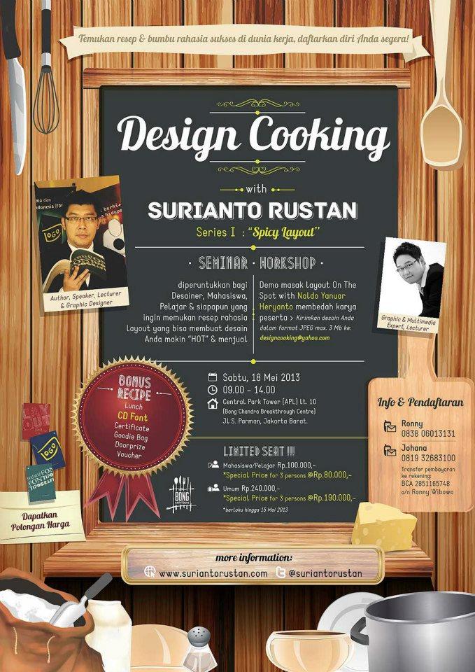 Design Cooking Seminar